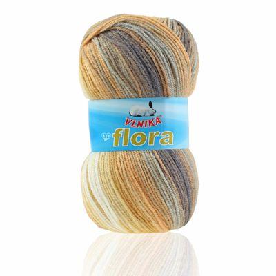 5 x 100g Farbverlaufs-Strickgarn Wolle Flora, verschiedene Farben – Bild 6