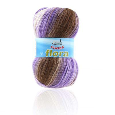 5 x 100g Farbverlaufs-Strickgarn Wolle Flora, verschiedene Farben – Bild 22