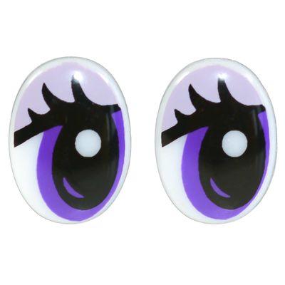 10 Paar Sicherheits-Augen 12x17mm Sicherheitsaugen Puppen Kuscheltiere Teddies – Bild 1