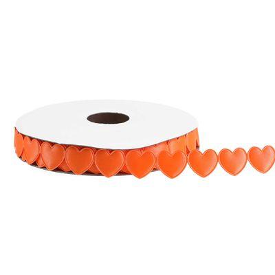 18m Satinband Herz 16mm Geschenkband Herzgirlande Dekoban Schleifenband Farbwahl – Bild 5