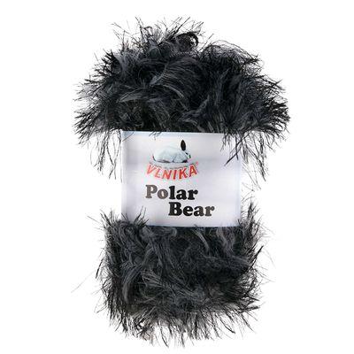100g Fransenstrickgarn Polar Bear, 100% Polyamid, verschiedene Farben – Bild 7