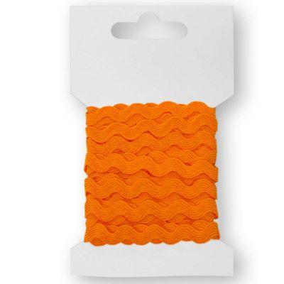 3m Qualitäts-Zackenlitze Borte Zick-Zack-Borte auf Karte, 5mm breit, Farbwahl – Bild 9