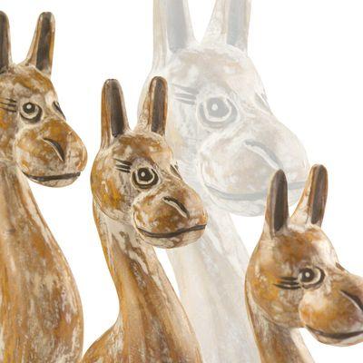 Happy Horses Family Dekofigur 3 Pferde Holz 40x44x10 cm, handmade, Holzfigur – Bild 4