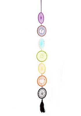 Traumfänger Dreamcatcher Babylon die magische 7, Länge ca. 89cm, mehrfarbig