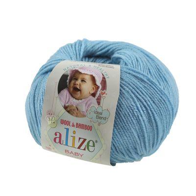 50g Baby-Strickgarn ALIZE Baby Wool Kinderstrickgarn 40% Wolle, Farbwahl – Bild 3