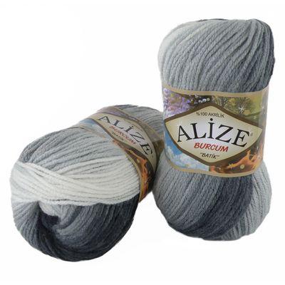 100g  Strickgarn ALIZE BURCUM Batik Strickwolle Handstrickgarn, Farbe wählbar – Bild 21