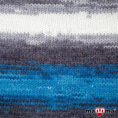 500g Strick-Garn ALIZE BURCUM Batik Strick-Wolle Handstrickgarn, Farbe wählbar – Bild 9
