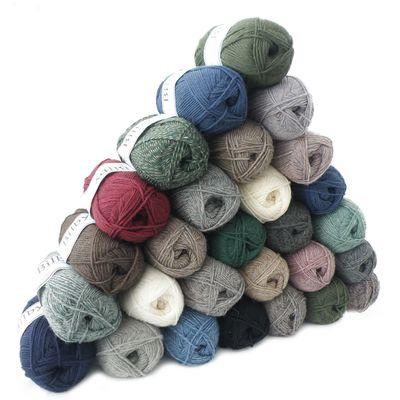 50g Sockenwolle BILBY Countrystyle, verschiedene Farben – Bild 1