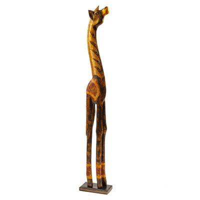 Pferd Standfigur handgeschnitze Holzfigur stehend, Größenwahl 100-150cm – Bild 4