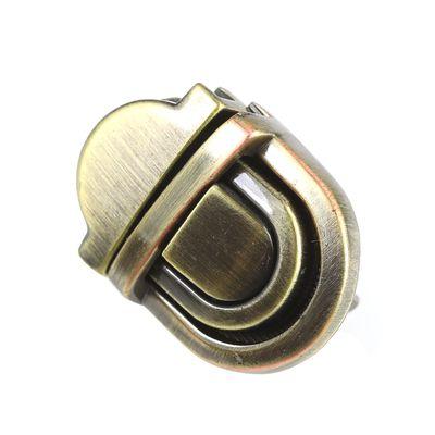 1 Metall Mappenverschluss 20x27mm Steckverschluss Mappenschloss, Farbwahl – Bild 1