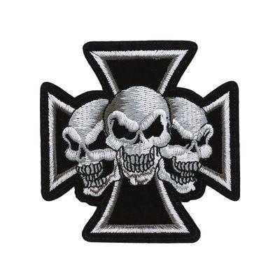 1 Aufbügler Skull, Applikation, Aufnäher, Motivwahl – Bild 2