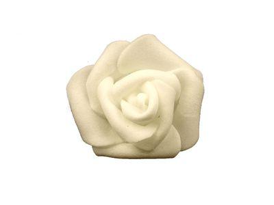 10 Deko-Rose Rosenblüte Rosenkopf 4cm Foamrosen Schaumrosen, Farbwahl – Bild 12