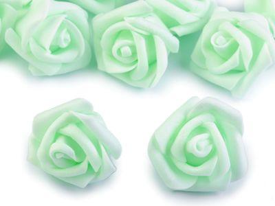 10 Deko-Rose Rosenblüte Rosenkopf 4cm Foamrosen Schaumrosen, Farbwahl – Bild 7