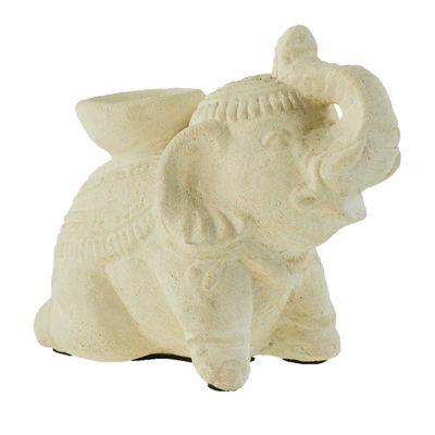 Elefant Teelichthalter, Beton - Elephant Kerzenhalter Kerzenständer