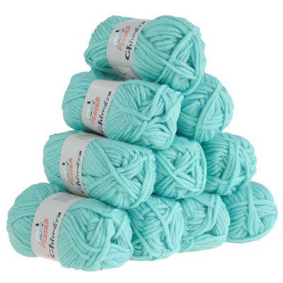 10 x 50g Filzwolle CHIMERA, Wolle zum Strickfilzen, verschiedene Farben – Bild 19