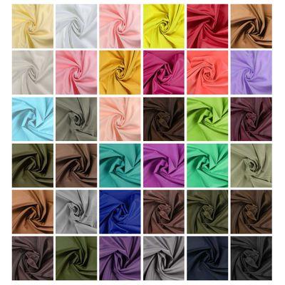 5m Futterstoff Breite 148cm, verschiedene Farben Farbwahl – Bild 1