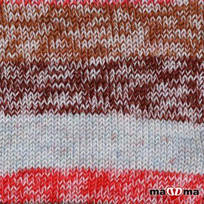 5 x 100g Strickwolle Kartopu NO:1 Prints Acryl-Strickgarn Wolle Anti Pilling  – Bild 9