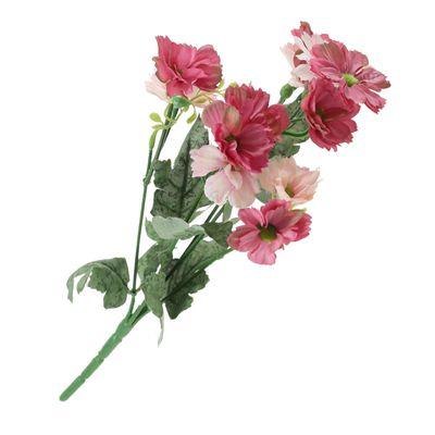 1 Bündel Kosmeen Blumen Länge 33cm, Farbwahl - unecht künstlich Deko – Bild 3