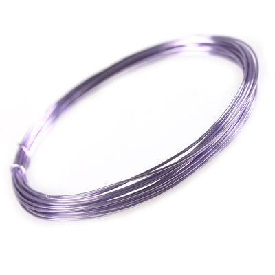 5m Aludraht Aluminiumdraht 1mm Dekodraht Schmuckdraht Bindedraht Farbwahl – Bild 7