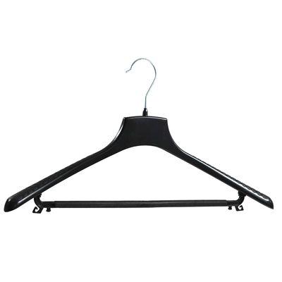 5 Kunststoff Kleiderbügel Wäschebügel Anzugbügel Varianten mit o. ohne Hosensteg schwarz – Bild 22