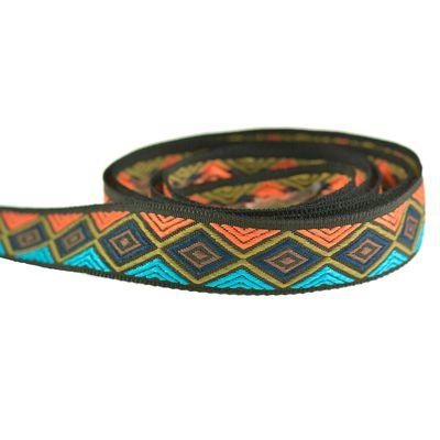 1m / Meterware Dekoband - Mexiko - gewebtes Band Gurtband, Farb- und Breitenwahl – Bild 6