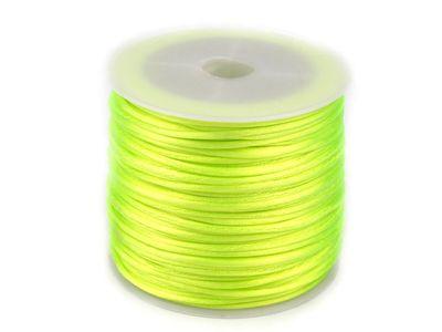 30m Satinschnur Flechtkordel Kumihimo 1mm, Farbwahl verschiedene Farben – Bild 15