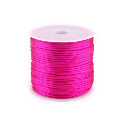 30m Satinschnur Flechtkordel Kumihimo 1mm, Farbwahl verschiedene Farben – Bild 4
