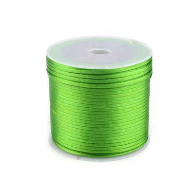 30m Satinschnur Flechtkordel Kumihimo 1mm, Farbwahl verschiedene Farben – Bild 5