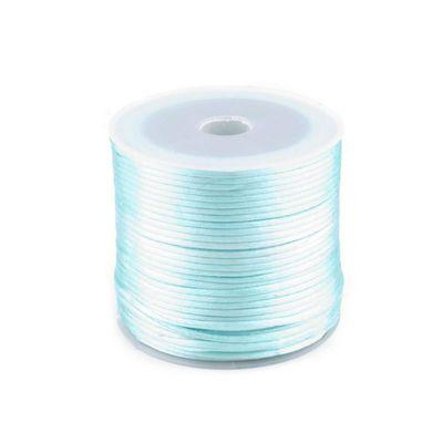 30m Satinschnur Flechtkordel Kumihimo 1mm, Farbwahl verschiedene Farben – Bild 7