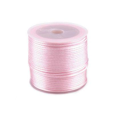 30m Satinschnur Flechtkordel Kumihimo 1mm, Farbwahl verschiedene Farben – Bild 11