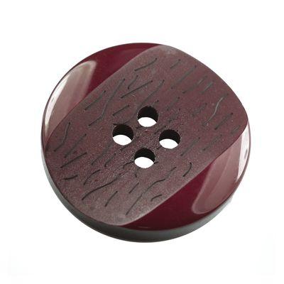 10 Kunststoff-Knöpfe, 4-loch, 25,2mm, rund, Farbwahl - Knopf matt glänzend – Bild 16
