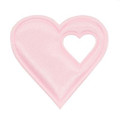 20 Satin-Herzen, 40mm, Satinherzen, Streudeko Herz, Liebe, Farbwahl – Bild 8