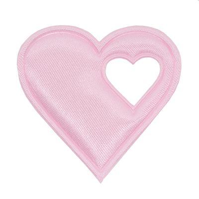 20 Satin-Herzen, 40mm, Satinherzen, Streudeko Herz, Liebe, Farbwahl – Bild 7