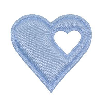 20 Satin-Herzen, 40mm, Satinherzen, Streudeko Herz, Liebe, Farbwahl – Bild 2