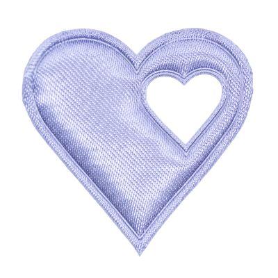20 Satin-Herzen, 40mm, Satinherzen, Streudeko Herz, Liebe, Farbwahl – Bild 11