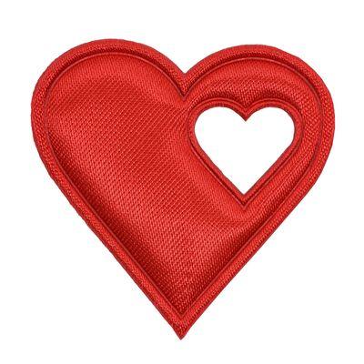 20 Satin-Herzen, 40mm, Satinherzen, Streudeko Herz, Liebe, Farbwahl – Bild 12