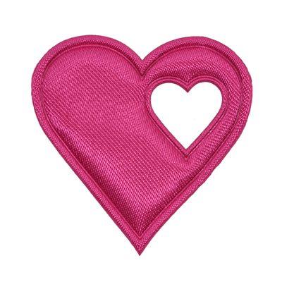 20 Satin-Herzen, 40mm, Satinherzen, Streudeko Herz, Liebe, Farbwahl – Bild 6