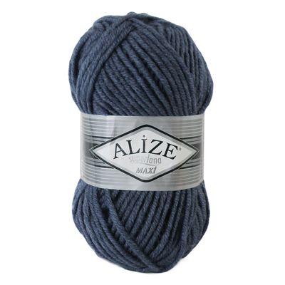 Strickgarn Strickwolle ALIZE SUPERLANA MAXI 25% Wolle, 100g, Farbwahl – Bild 19