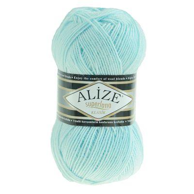 ALIZE SUPERLANA KLASIK 100g Strickgarn Strickwolle 25% Wolle, Farbwahl – Bild 24