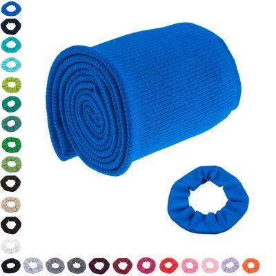 16x80cm Bündchen Strickbündchen Bündchenstoff Baumwolle elastisch gerippt, Farbwahl