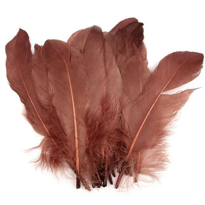 20 Enten-Federn 15-21cm Bastelfedern Federn f. Basteln Dekoration Hüte Kostüme – Bild 5
