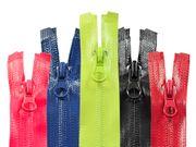 Outdoor Reißverschluss wasserfest spiral 7mm teilbar Autolock, Längen Farbwahl 001