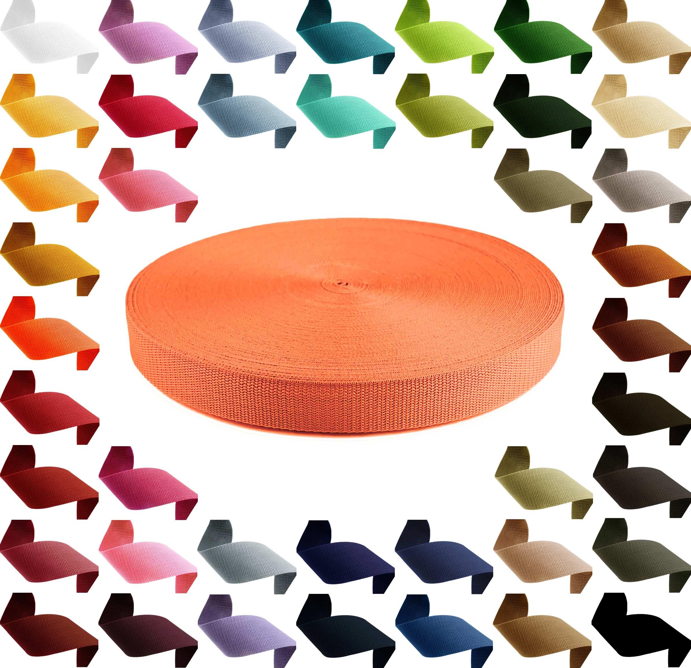 12m PP Gurtband, Polypropylen, 30mm breit, 1,3mm stark, Farbwahl – Bild 4