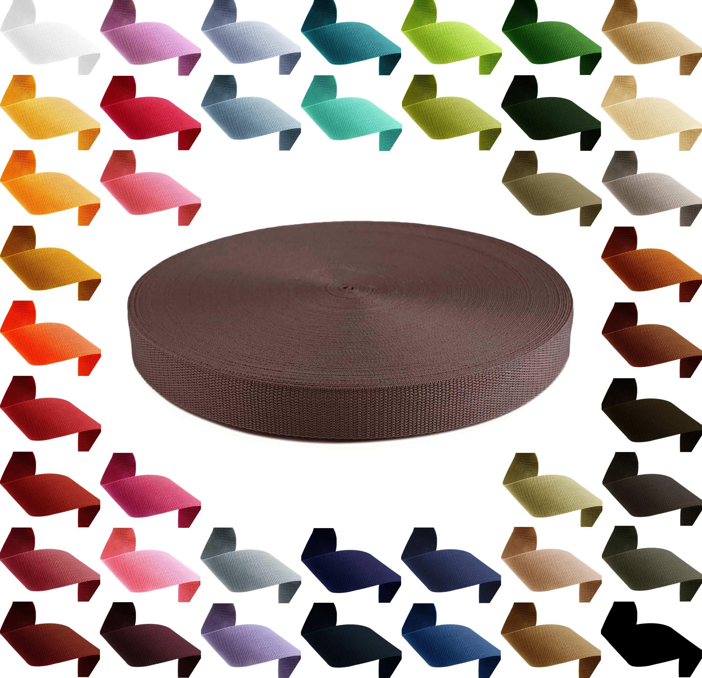 12m PP Gurtband, Polypropylen, 30mm breit, 1,3mm stark, Farbwahl – Bild 8