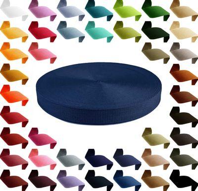 12m stabiles PP Gurtband 30mm Polypropylen Stärke 1,3 mm, 43 Farben wählbar  – Bild 5