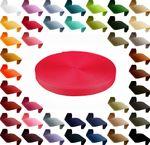 12m PP Gurtband, Polypropylen, 30mm breit, 1,3mm stark, Farbwahl 001