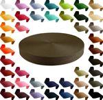12m stabiles PP Gurtband 30mm Polypropylen Stärke 1,3 mm, 43 Farben wählbar  001