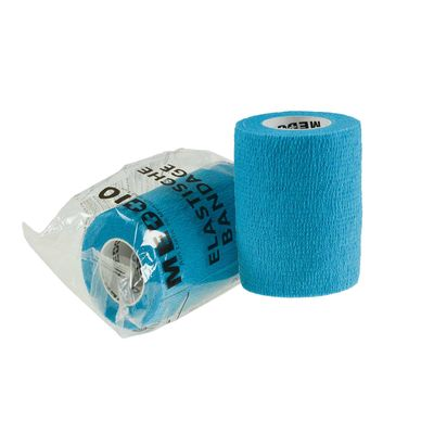 1 Haftbandage 7,5cm x 4,5m Selbsthaftende Bandage Fixierbinde blue refresh blau