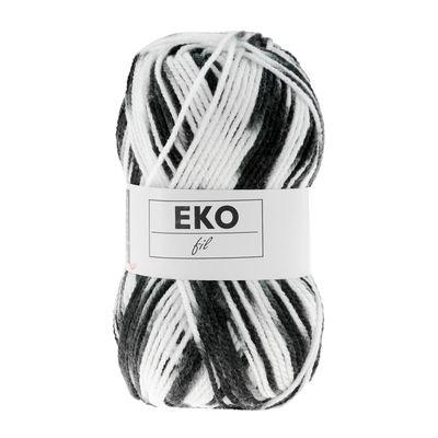 50g Strickgarn EKO FIL COLOR Strick-Wolle Handstrickgarn multicolor, Farbwahl – Bild 17