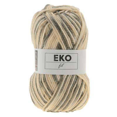 50g Strickgarn EKO FIL COLOR Strick-Wolle Handstrickgarn multicolor, Farbwahl – Bild 7
